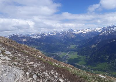 Fernblick-Schoppernau-Au-Panorama