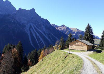 Fernblick-Schoppernau-Au-Wandern